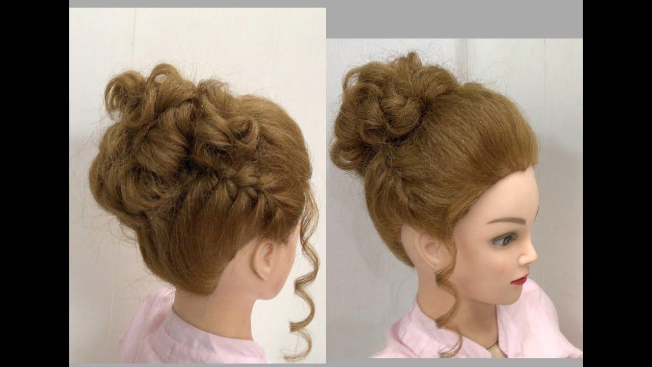 30 Beautiful Wedding Hairstyles: Beautiful Hairstyles With Puff: Easy Wedding Hairstyles