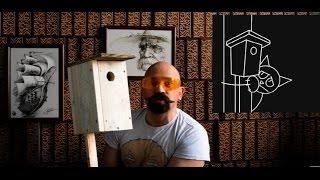 як зробити правильну шпаківню. How to make a birdhouse.  Как сделать правильный скворечник