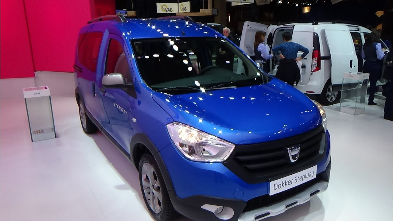 2015 dacia dokker stepway tce 115 youtube. Black Bedroom Furniture Sets. Home Design Ideas