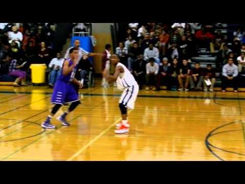 McNeil jumper Mount St. Joseph/Poly boys basketball 1/7/13