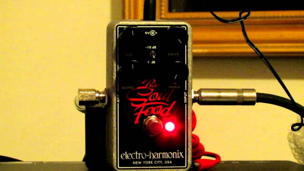 Electro Harmonix Bass Soul Food Review