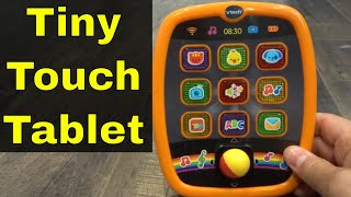 Vtech Tiny Touch Tablet Review-Tablet For Kids