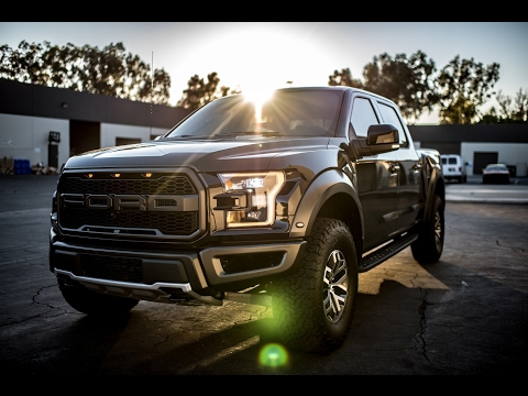 NO MORE SWIRLS on Shadow Black Ford Raptor with PPF by Benjamin Roman @ BemaroSF