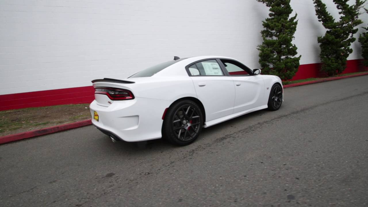 2017 Dodge Charger Rt White >> 2016 Dodge Charger R/T Scat Pack | Bright White Clearcoat | GH301778 | Redmond | Seattle | - YouTube