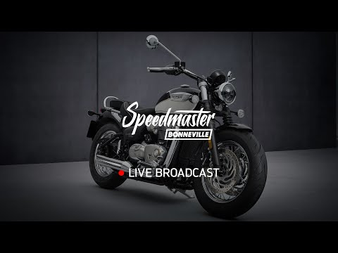 New Bonneville Speedmaster - Reveal