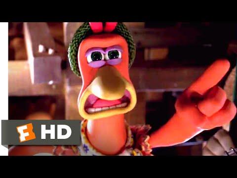 Chicken Run (2000) - Chickens Attack! Scene (8/10) | Movieclips