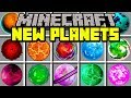 Minecraft NEW PLANETS MOD! | BUILD TO TRAVEL TO NEW MINECRAFT PLANETS AND WORLDS! | Modded Mini-Game