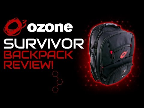 Ozone Gaming Survivor Backpack Review!