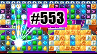 Candy Crush Soda Saga Level 553 NEW! Complete!