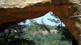 Natural Arch, Sky Bridge Arch, Red River Gorge, Kentucky