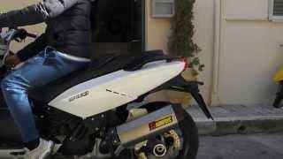Gilera GP 800 akrapovic