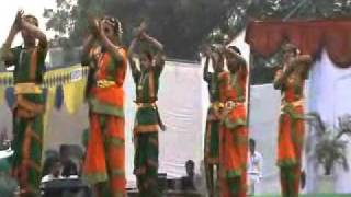 Dance by Girl Students of St Joseph's School Greater Noida