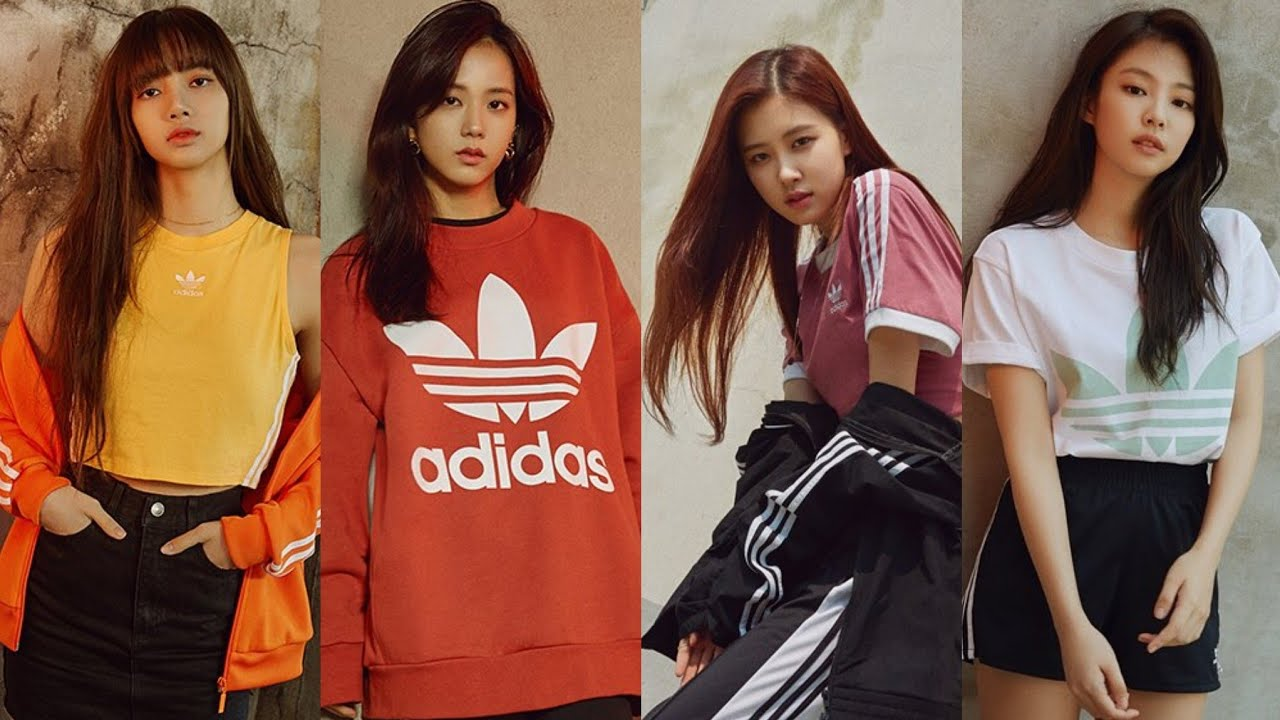 180517 Blackpink For Adidas Full Version Lisa Jisoo Rose Jennie