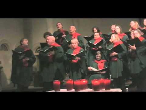 Les anges dans nos campagnes - arr: John Rutter -- The Stairwell Carollers