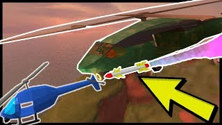 JAILBREAK | SHOOTING DOWN THE HELI WITH MISSILES! (Roblox) NEW UPDATE!