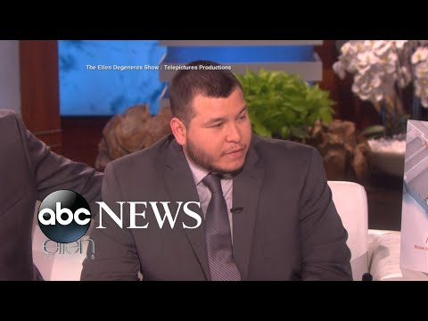 Las Vegas security guard breaks silence on 'Ellen'