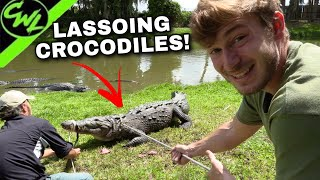CATCHING CROCODILES!!!