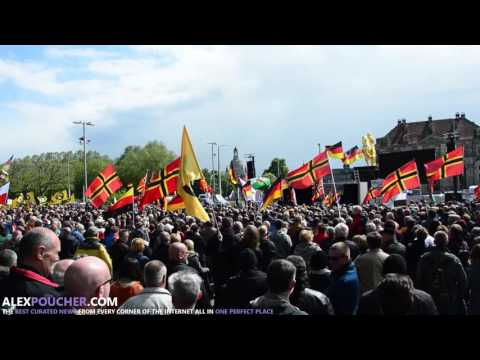 Anti-fascists disrupt PEGIDA demo Festung Europa in Dresden