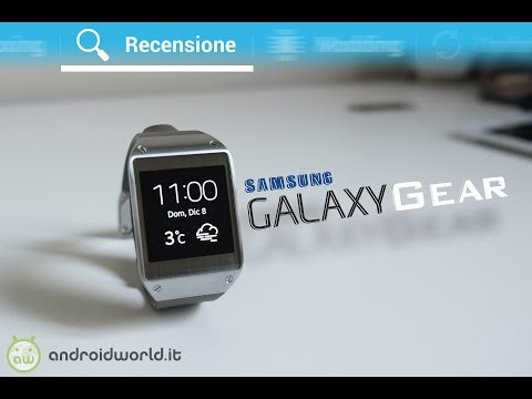 Samsung Galaxy Gear, recensione in italiano by AndroidWorld.it