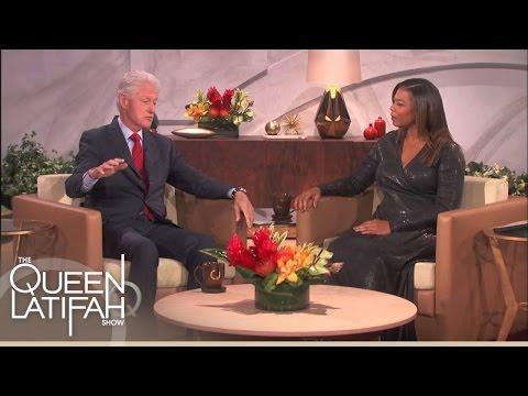 Queen Latifah Sings For The President | The Queen Latifah Show