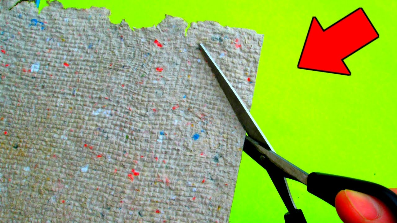 Как делать бумагу своими руками
