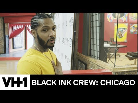 Tattoo Shop Tour: Ryan Henry & the New 9Mag  Black Ink Crew: Chicago