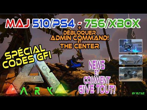 Ark MAJ 1.27 (510/ps4-756/xbox) FR Live! CODES GFI et Nouveautés