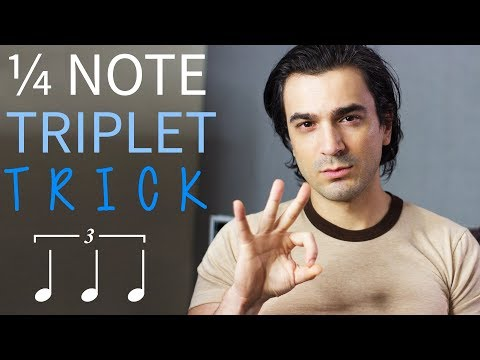 Quarter Note Triplet TRICK + Interactive Training for Triplet Rhythms!