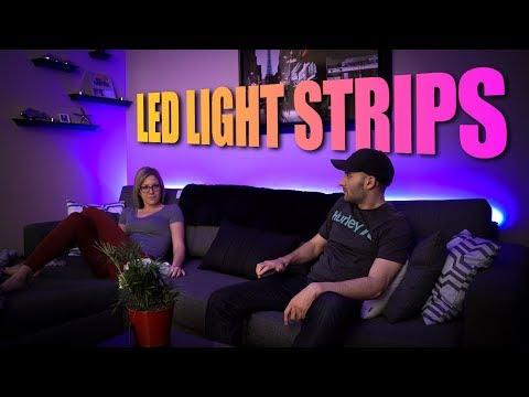 Minger DreamColor RGB LED Light Strips - Easy to Install LED Strip Lights!