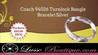 Coach Bangle Bracelet - Lussoboutique