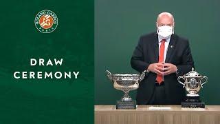 Draw ceremony   Roland-Garros 2020