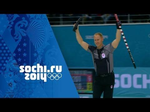 Curling - Men's Gold Medal Game - Canada v Great Britain   Sochi 2014 Winter Olympics