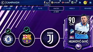 How to beat Juventus in Master Campaign- Toughest Gameplay ( 0-3 , No extra time ) fifa Mobile 19