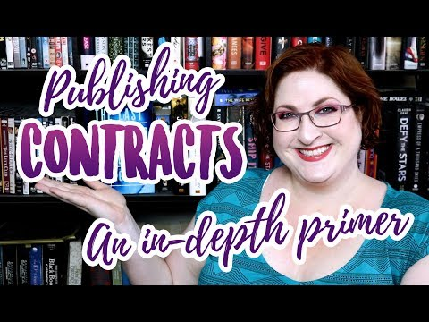 Agent/Publisher Contract Terms You Should Know