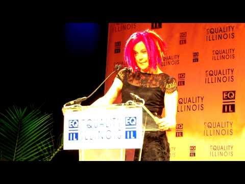 Windy City Times: Equality IL 2-8-2014: Lana Wachowski award
