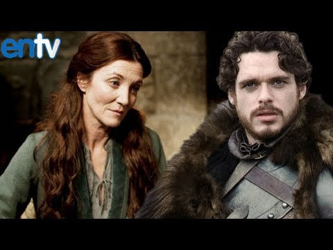 Red Wedding Aftermath - Michelle Fairley and Richard Madden