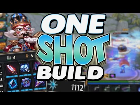 Smite: One Hit Ah Puch Build - THE MISSION. IS ACCOMPLISHED!