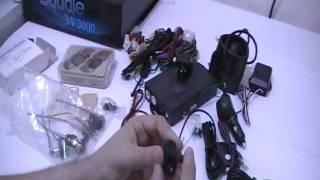 Informateque.net | Présentation de l'alarme pour voiture Squale SV-3000