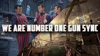 We Are Number One But It's a Gun Sync (4k Special!)