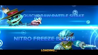 QUICK DRAW RATTLE SHAKE VS NITRO FREEZE BLADE