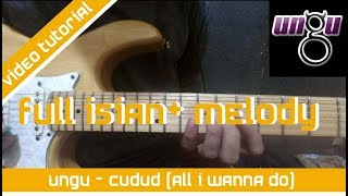 Tutorial Melody Cududu ( All I Wanna Do) - Ungu Tutorial Bang Adi