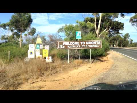 Driving Into Moonta | South Australia