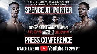 Spence Jr. vs Porter - Kickoff Press Conference