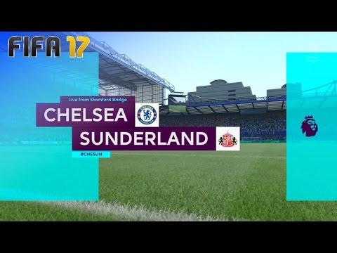 FIFA 17 - Chelsea vs. Sunderland @ Stamford Bridge