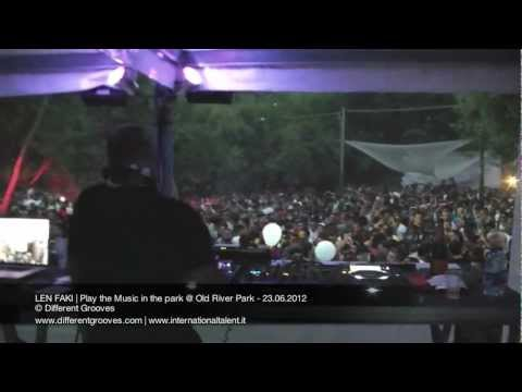 LEN FAKI | Play the Music in the park @ Old River Park - 23.06.2012 video2