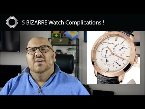 5 BIZARRE Watch Complications ! - Federico Talks Watches