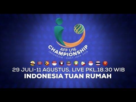 AFF U-16 Championship 2018! Dukung dan Saksikan Garuda Muda Untuk Menjadi Juara di Bumi Pertiwi