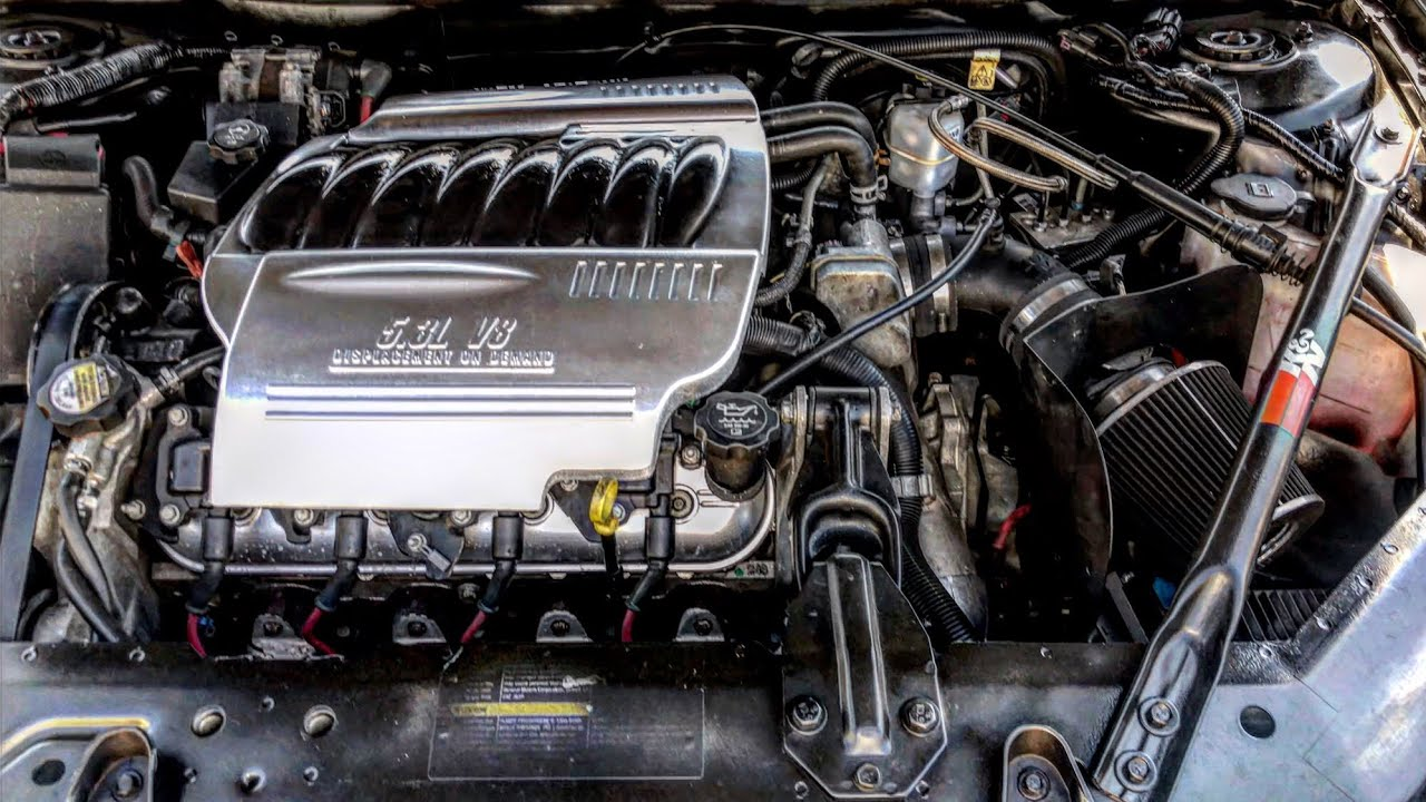 Custom Chevy Monte Carlo SS 5.3 LS4 Engine Cover - YouTube