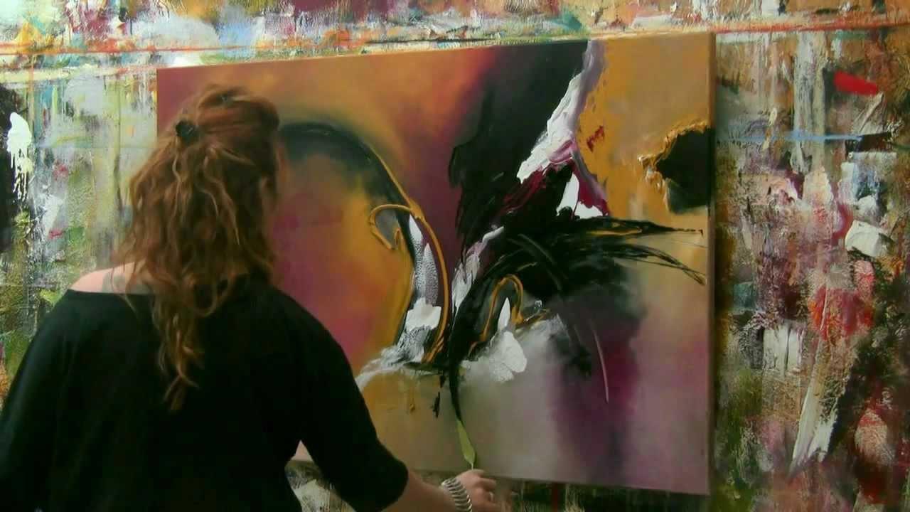 Stefanie Etter Abstrakte Strukturmalerei Resin Kunst