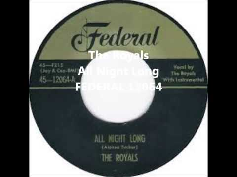 The Royals -  All Night Long